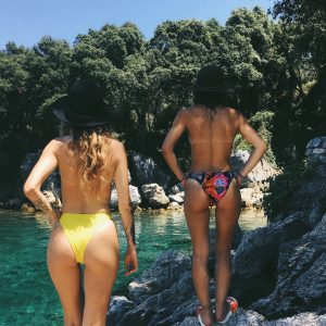 HIGH CUT SWIMSUITS ARE BACK